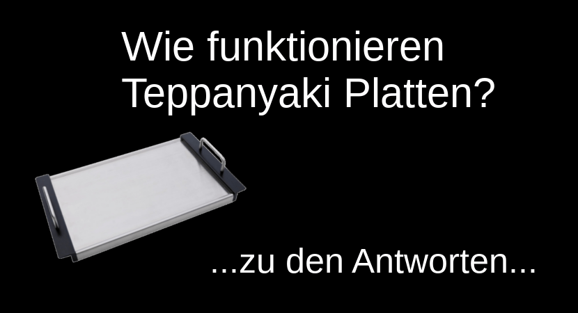 Wie Funktionieren Teppanyaki Platten Teppanyaki Platte